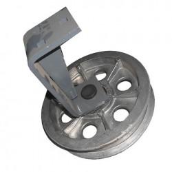Шкив обводной плоский d 200 мм