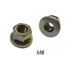 Гайка М6, DIN 6331, самоконтрящаяся