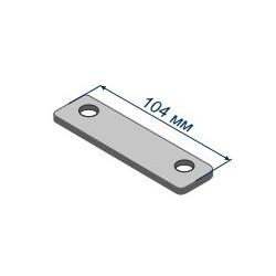 Направляющая планка 6 мм, 2 отверстия