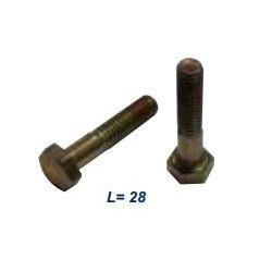 Болт М6x28