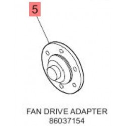Адаптер установки вентилятора m