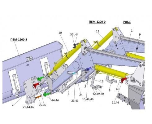 Упаковка комплекта втулок на ПБМ-1200-0