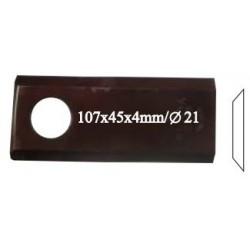 Нож роторный RADURA, правый, 107X4 R, 25 шт. в упаковке - 41970