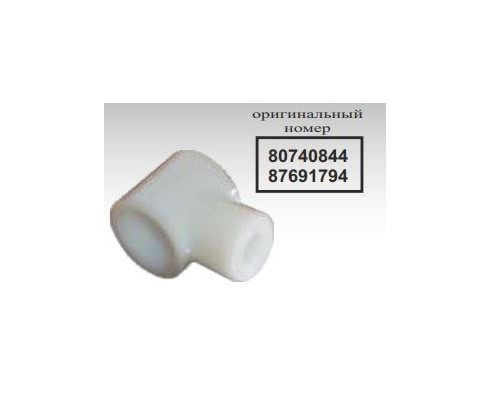 Держатель палеца шнека жатки (80740844), NH/2030 - 53355