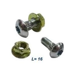Болт М6*16 , Гайка М6 - 51542.03
