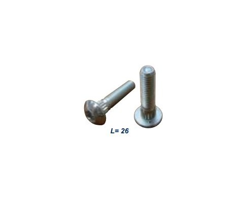 Болт для крепления сегмента М6*26, торкс - 14548.01