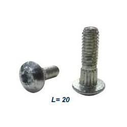 Болт для крепления сегмента М 6*20, торкс - 14547.01