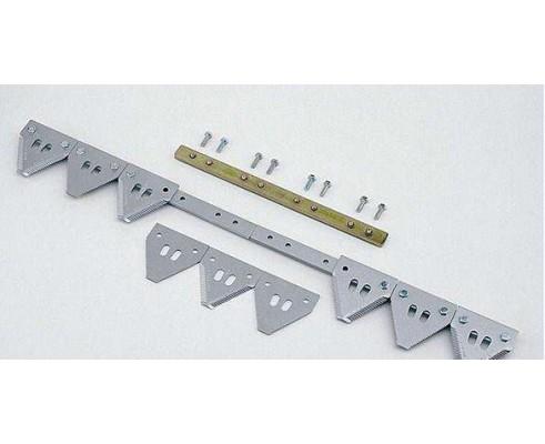 Нож ЖХТ 7-14 - 23фт (7м) 91-1/2 сегм.- 11tpi (груб), под ст.кольцо - секциональный - A00SH
