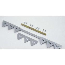 Нож Енисей - 20фт. (6m) 77-1/2 сегм. - 11tpi (груб), секциональный - A015H