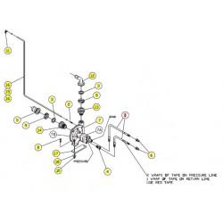 Шланг гидравлический - SX004627