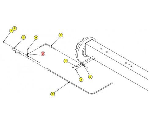 Кронштейн датчика - SX010443