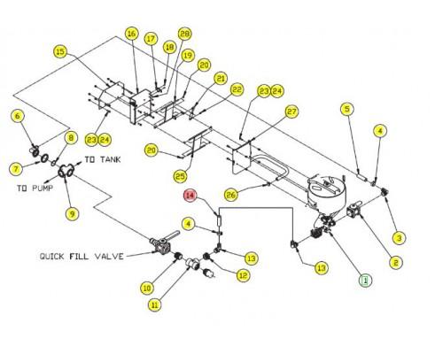 "Шланг 11/4""x4 - SX012012SRV"