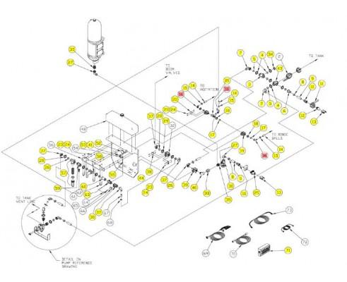 Клапан кабеля - SX013439