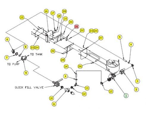 Пружина газовая - SX013493