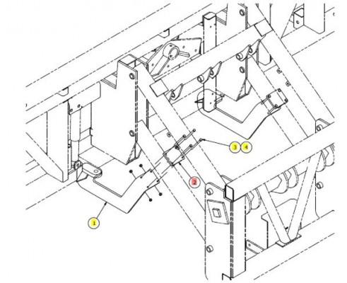 Пластина штанги - SX013764