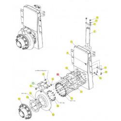 Проставка тормозного суппорта - SX015251