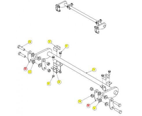Звено стабилизатора - SX015290