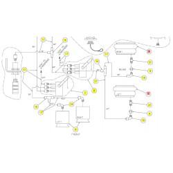 Пневмопружина задняя - SX015393