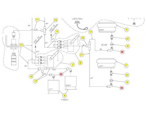 Колено шарнирное - SX015407