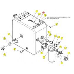 Бак гидравлический 30 галлонов - SX015416