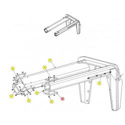 Пластина износостойкая - SX015605