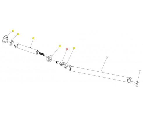 Вилка приводного вала - SX016101SP