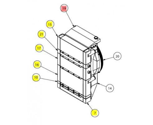 Бачок расширительный - SX016112SP