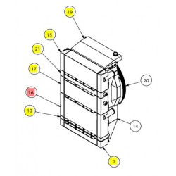 Радиатор - SX016122SP