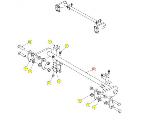 Торсион задний сварной - SX016278
