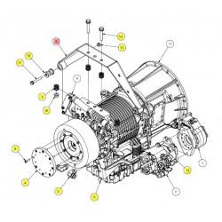 Опора трансмиссии - SX016323