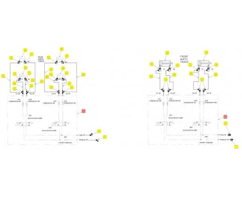 Распределитель гидравлический - SX016366