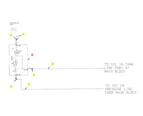 Клапан гидравлический - SX016368