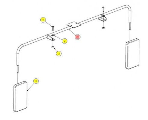 Кронштейн зеркал сварной - SX016402