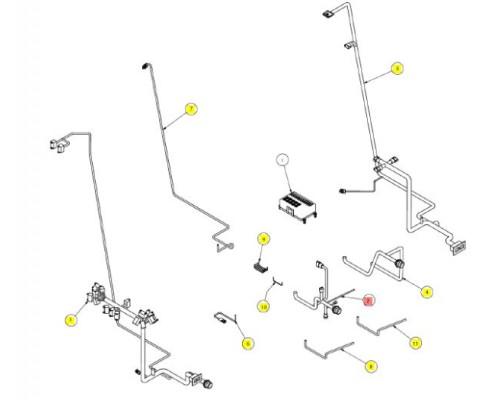 Проводка фар и кондиционера - SX016544