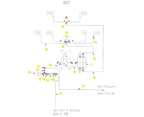 Рукав гидравлический -04fjx-041 - SX016643