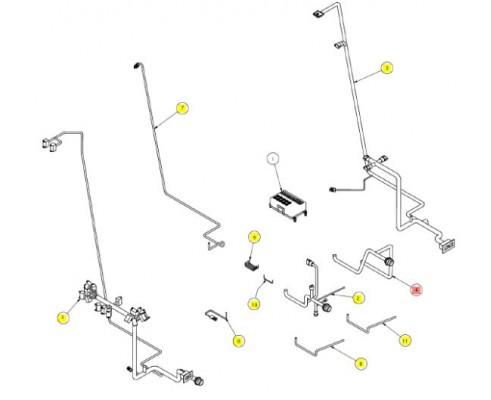 Проводка панели предохранителей - SX016690