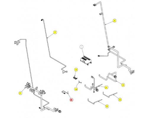 Проводка стояночного тормоза - SX016692