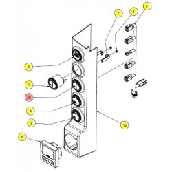 Указатель топлива - SX016709