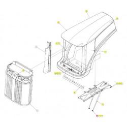 Шарнир шаровый стальной 16mm - SX016767