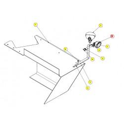 Фара сигналов поворота левая - SX016810