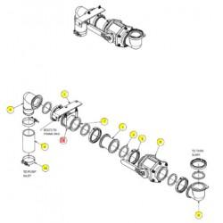 Хомут глушителя 4 дюйма - SX016926