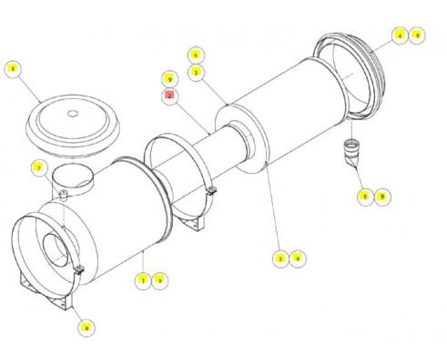 Фильтроэлемент - SX017299SP