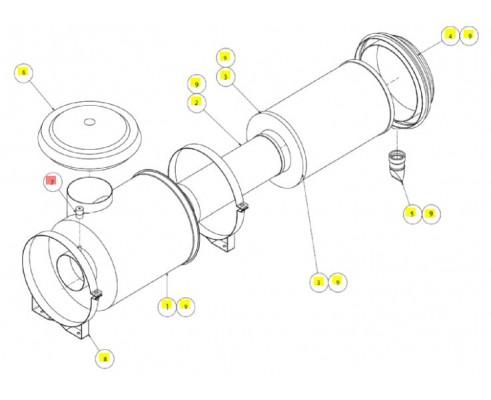 Датчик засорения воздушного фил - SX017308