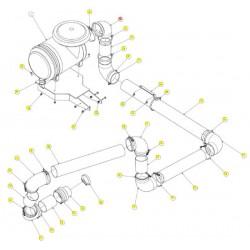 Шланг резиновый угловой  90 гра - SX017323