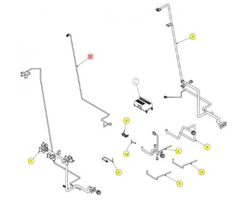 Проводка аналоговых приборов - SX017376