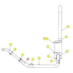 Трубка гибкая, вн. диаметр 4 дю - SX017525
