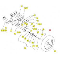 Колесо с диском - SX017688C