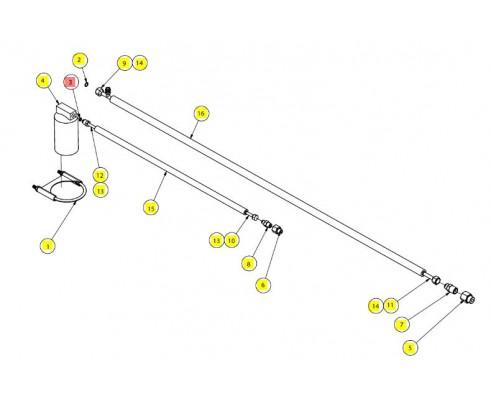 Кольцо хладонопровода - SX017701