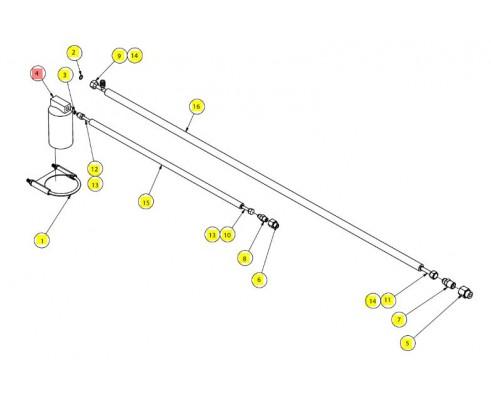 Ресивер кондиционера - SX017750