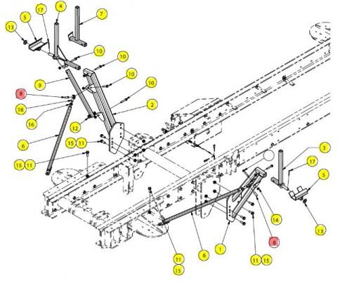 Втулка упора - SX017790